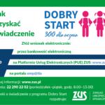 """Informacja dotycząca programu """"Dobry Start"""""""